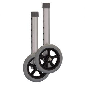 """Nova 5"""" walker wheels accessory separate"""