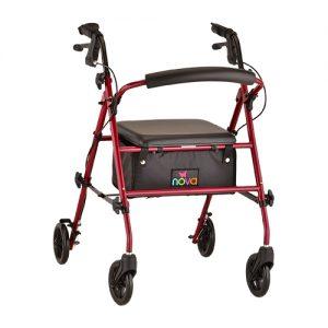 Nova Journey rollator rolling walker with wheels stylish