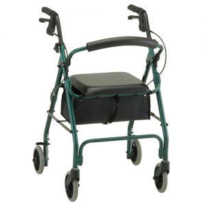 Nova getgo classic rollator rolling walker with wheels