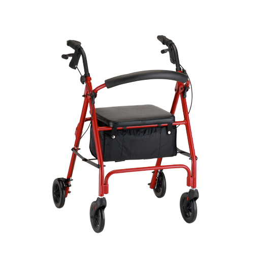 Nova rollator vibe 6 walker with wheels basket budget