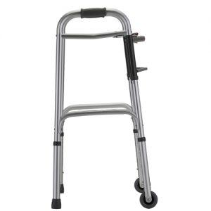 """Nova walker standard walker with small 3"""" wheels"""