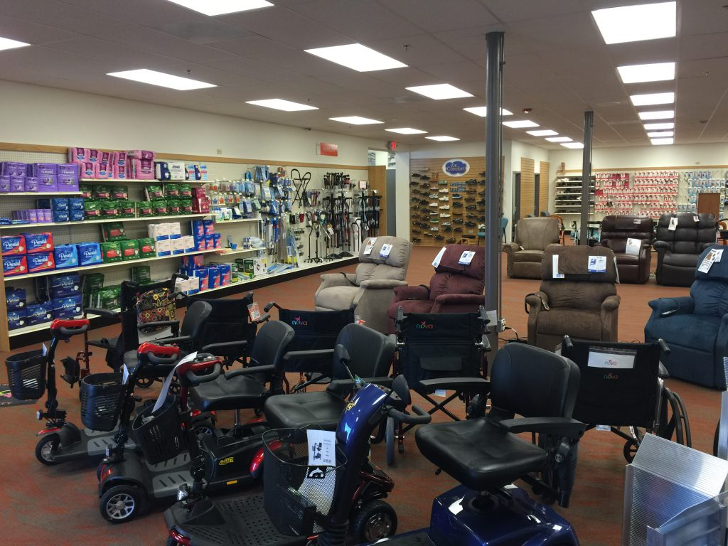 Check Out our New Medical Equipment Department!