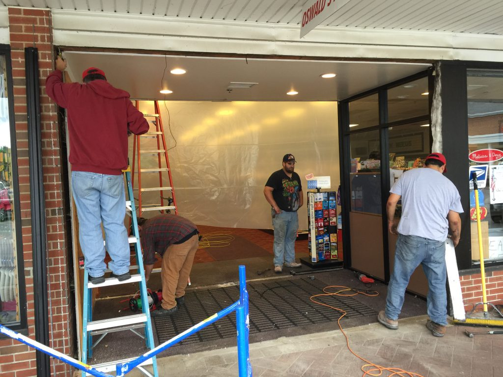 New Sliding Doors added to Oswald's Entry!