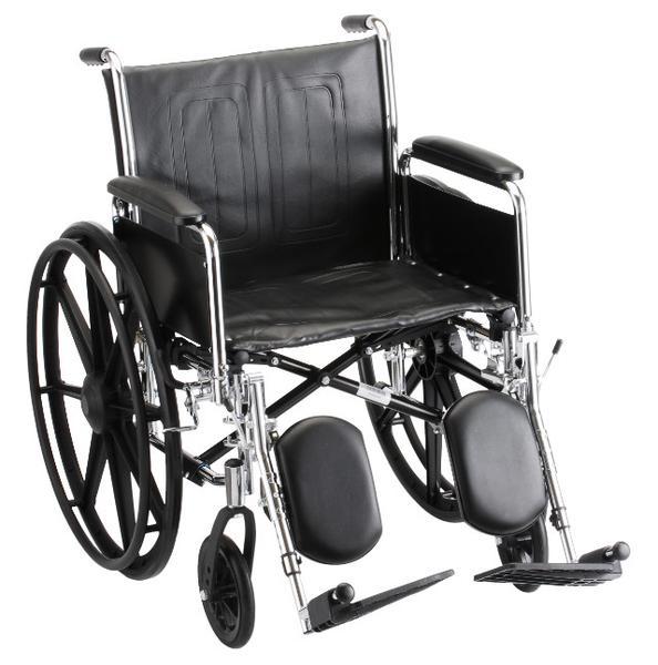 Nova 18 Wheelchair Steel Detachable Full Arms