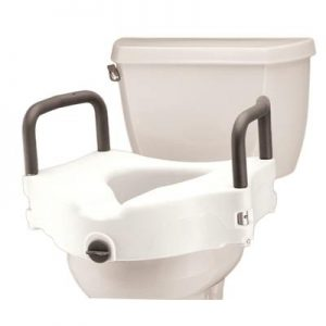 Nova adjustable raised toilet seat