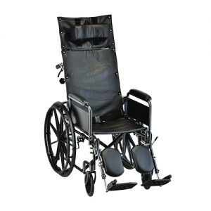 Nova reclining wheelchair tall seat special needs patient patient transport
