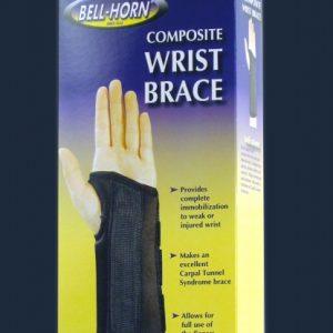 Bell-Horn Bell Horn Composite Wrist Brace Carpal Tunnel Brace Splint Velcro brace