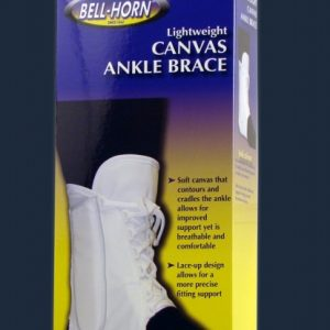 Bell-Horn Lightweight Canvas Ankle Brace Ankle Splint Sprained ankle lace ankle brace sports ankle brace ankle LOK