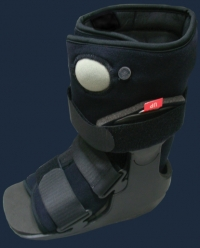 Bell-horn bell horn low top lotop pneumatic walking boot CAM boot ankle boot