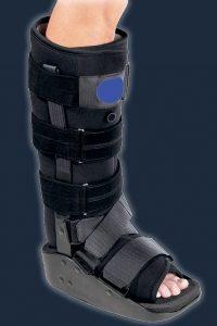 Bell-horn bell horn pneumatic walking boot ankle boot CAM boot