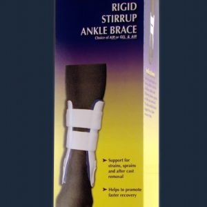 Bell-Horn Bell Horn Rigid Stirrup Ankle Brace Splint Support Air Cast Air-Cast