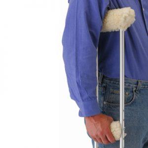 nova crutch cover cushion accessory fleece
