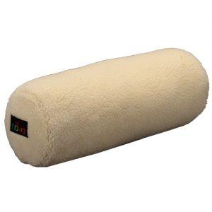 nova full roll pillow cushion. A fleece cylindrical cushion.