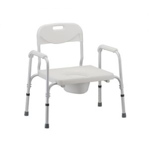 Nova Heavy duty commode bariatric commode basic heavy toilet chair potty seat fat toilet aid