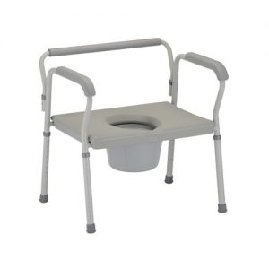 Nova heavy duty commode extra wide seat bariatric commode fat potty chair heavy toilet chair large bathroom seat