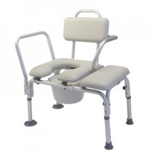 Nova Padded Transfer Bench and Commode