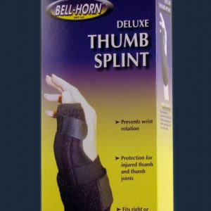 Bell-Horn Bell Horn Deluxe Thump Splint Sprain Brace Stabilizer Stop Thumb from moving