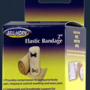 "Bell-Horn Bell Horn Elastic Bandage Wrap Support Athletic Wrap Clips Ace Bandage 2"" in inches"