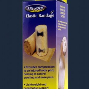 "Bell-Horn Bell Horn Elastic Bandage Wrap Support Athletic Wrap Clips Ace Bandage 6in "" Inches"