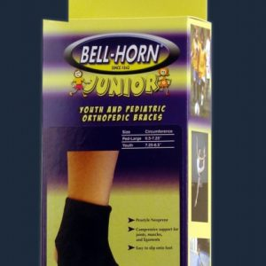 Bell-Horn Bell Horn Jr. Junior Ankle Support Kids Ankle Brace Childrens Ankle Support