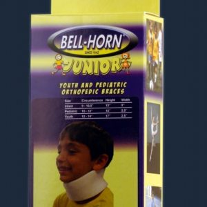 Bell-Horn Bell Horn Jr. Junior Cervical Collar Kids Neck Brace Childrens Neck Support