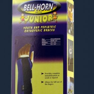 Bell-Horn Bell Horn Jr. Junior Composite Wrist Brace Wrap Compress Carpal Tunnel Kids Childrens