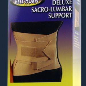 Bell-Horn Bell Horn Universal Deluxe Sacro-Lumbar Sacro Lumbar Support Compress Elastic Back Brace