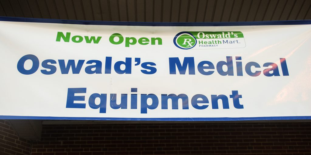 Oswald's Home Health Equipment Department