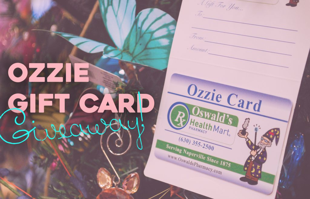 Ozzie's Announces Monthly Giveaways