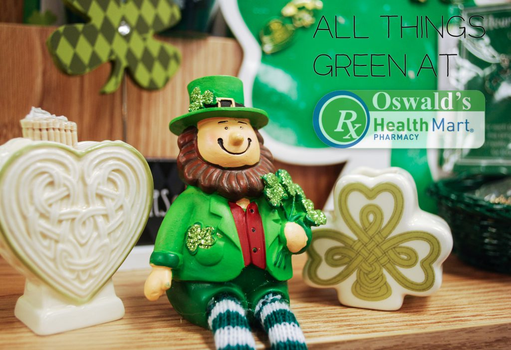 All Things Green: Stock up for St. Paddy's at Oswald's!