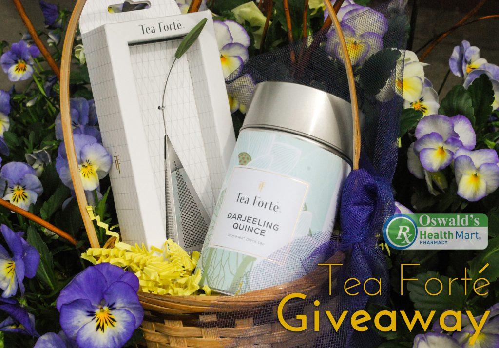Oswald's Tea Forté Giveaway