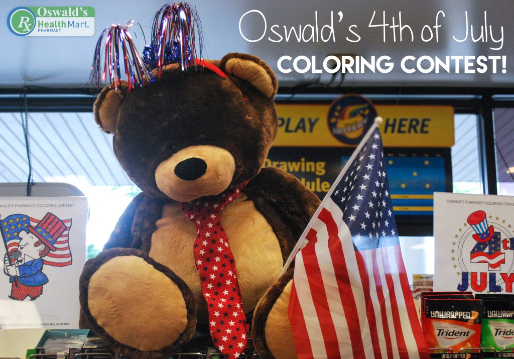 Oswald's Summer Coloring Contest