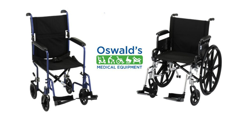 Wheelchair & Transport Chair: What's the Difference?