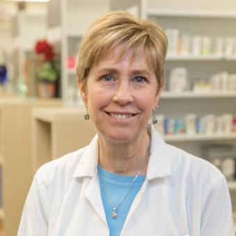 Photo of lead pharmacist Mary.