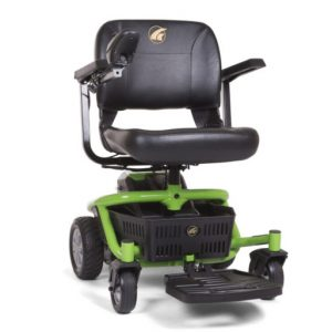golden literider envy electric wheelchair power chair motorized mobility chair in lime green