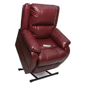 Pride LC-455 Power Recliner with Lift Lift Chair Motorized Fully Electric lift chair recliner electric extended footrest large footrest