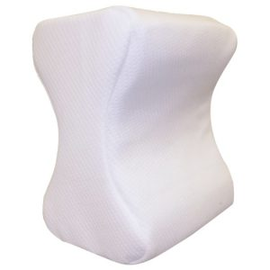 Cool Leg Pillow. The pad is all white, shown on a white background.