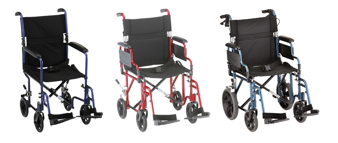 Need a Lightweight Wheelchair? Take a Look at Transport Chairs!  sc 1 st  Oswaldu0027s Pharmacy & Need A Lightweight Wheelchair? | Try A Transport Chair | Oswaldu0027s