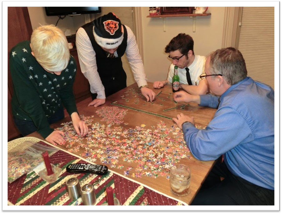 Autumn is Time for Puzzles! A Message From Bill Anderson…