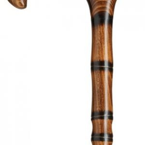 Harvy Derby Jambis Cane with Bamboo Steps