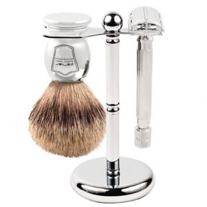 Parker 66R Men's Grooming Set on white background.