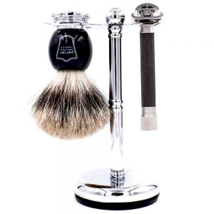 Parker 76R Men's Grooming Set on white background.