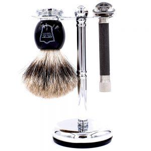 Parker 76R Men's Grooming Set on white background.