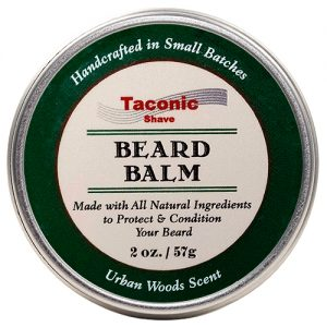 Taconic Shave Beard Balm 2oz on white background.