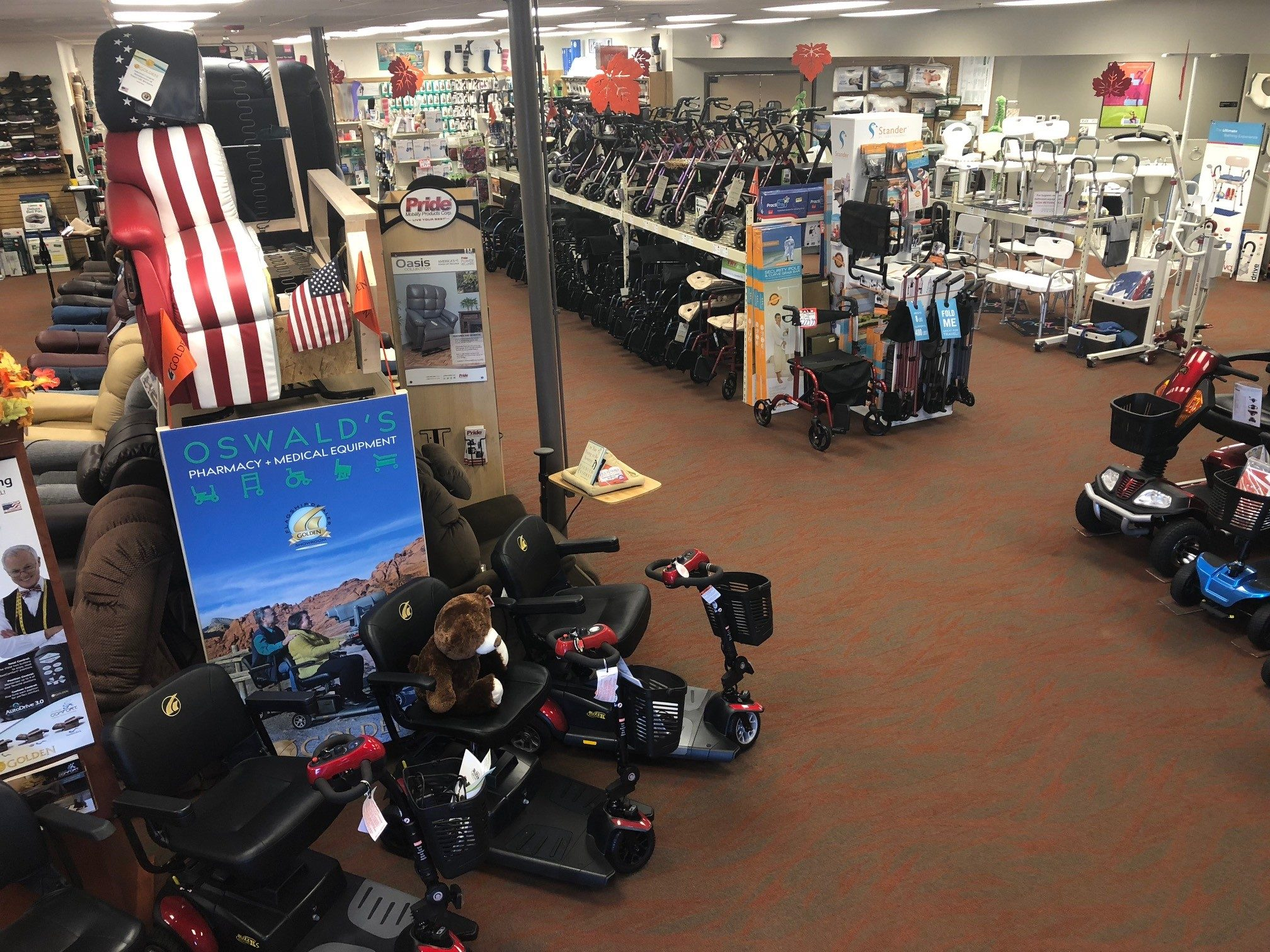What Is A Medical Equipment Showroom? | Oswald's Pharmacy