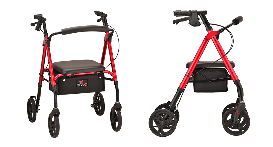 Introducing the Nova STAR 8 Rollator
