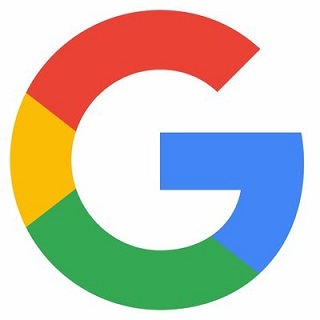 Google logo, used as a button to leave a Google review for Oswald's Pharamcy.