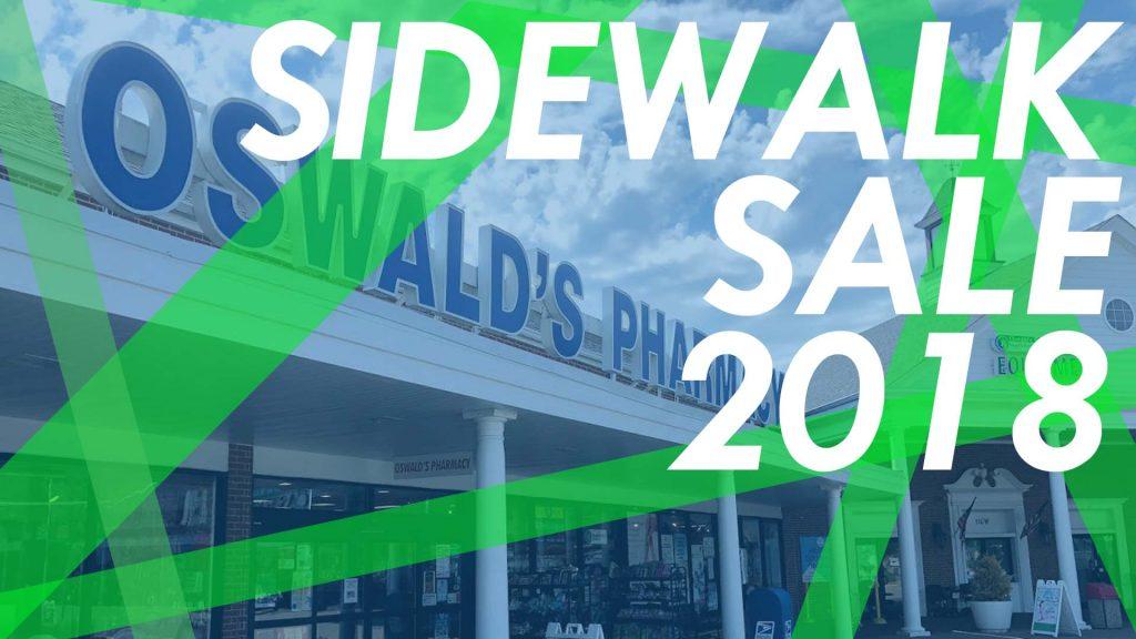 Oswald's Sidewalk Sale 2018! July 13-15