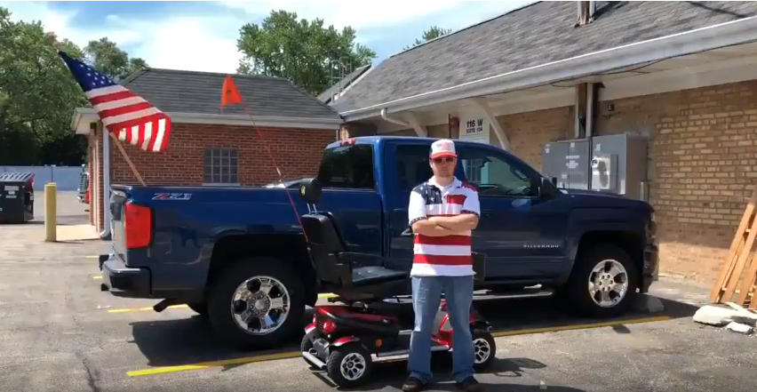 Scooter Man Presents the Golden Patriot