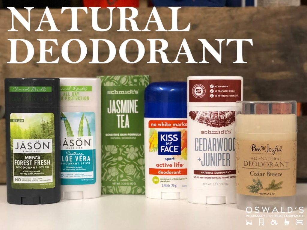 Natural and Organic Deodorants: Products that Actually Work!